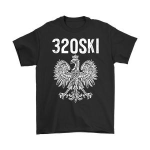 320SKI Minnesota Polish Pride - Gildan Mens T-Shirt / Black / S - Polish Shirt Store