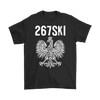 Philadelphia Pennsylvania Polish Pride - Gildan Mens T-Shirt / Black / S - Polish Shirt Store