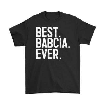 Best Babcia Ever - Polish Shirt Store
