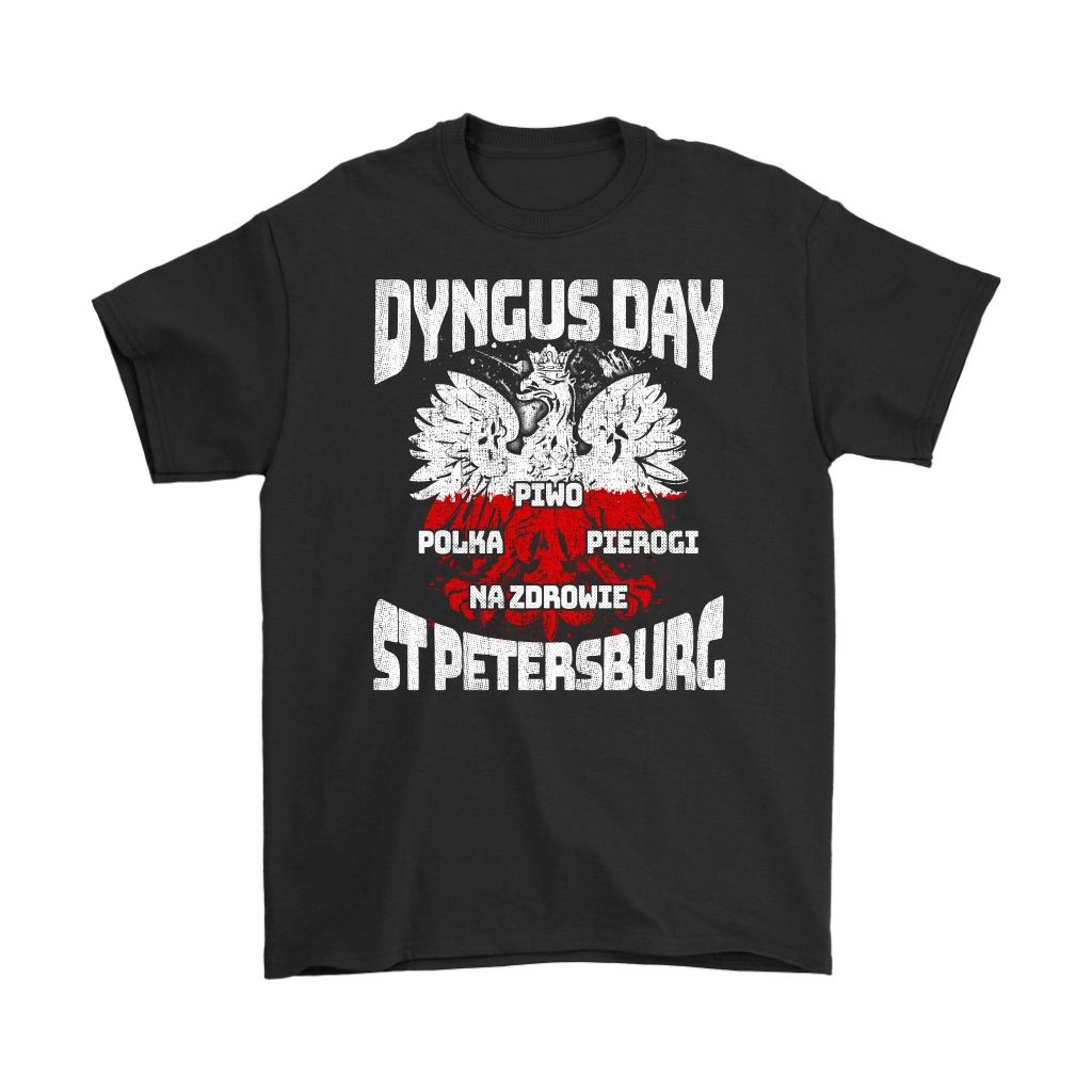 Dyngus Day St Petersburg Florida - Gildan Mens T-Shirt / Black / S - Polish Shirt Store