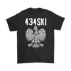 434SKI Virginia Polish Pride - Gildan Mens T-Shirt / Black / S - Polish Shirt Store