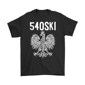 540SKI Virginia Polish Pride - Gildan Mens T-Shirt / Black / S - Polish Shirt Store