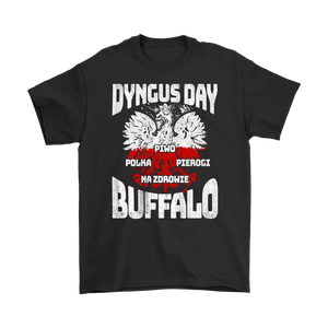 Dyngus Day Buffalo New York - Gildan Mens T-Shirt / Black / S - Polish Shirt Store