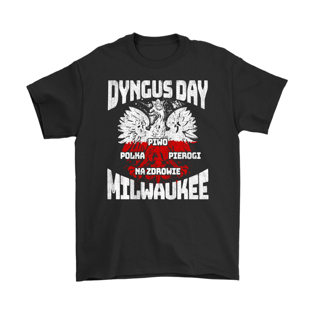 Dyngus Day Milwaukee Wisconsin - Gildan Mens T-Shirt / Black / S - Polish Shirt Store