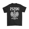 North Carolina Polish Pride - 252 Area Code - Gildan Mens T-Shirt / Black / S - Polish Shirt Store