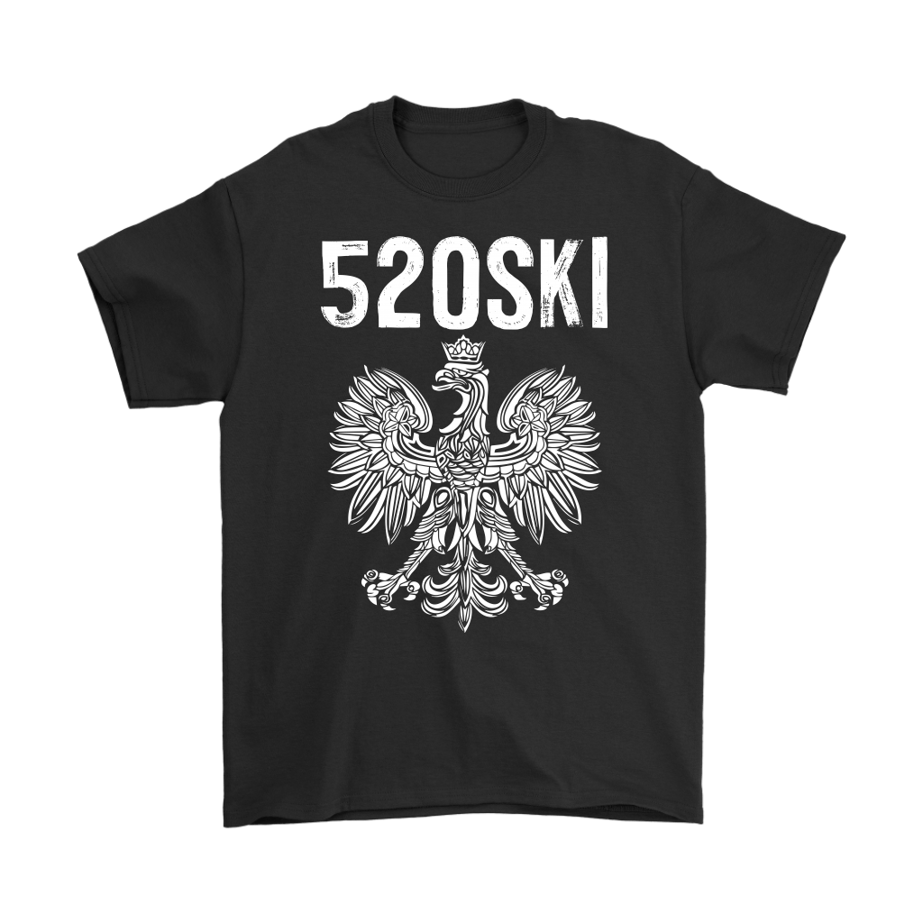 520SKI Arizona Polish Pride - Gildan Mens T-Shirt / Black / S - Polish Shirt Store