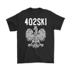 402SKI Polish Pride - Gildan Mens T-Shirt / Black / S - Polish Shirt Store