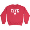 Polish Surnames ending in CZYK - Crewneck Sweatshirt / Red / S - Polish Shirt Store