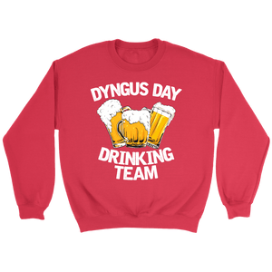 Dyngus Day Drinking Team - Crewneck Sweatshirt / Red / S - Polish Shirt Store