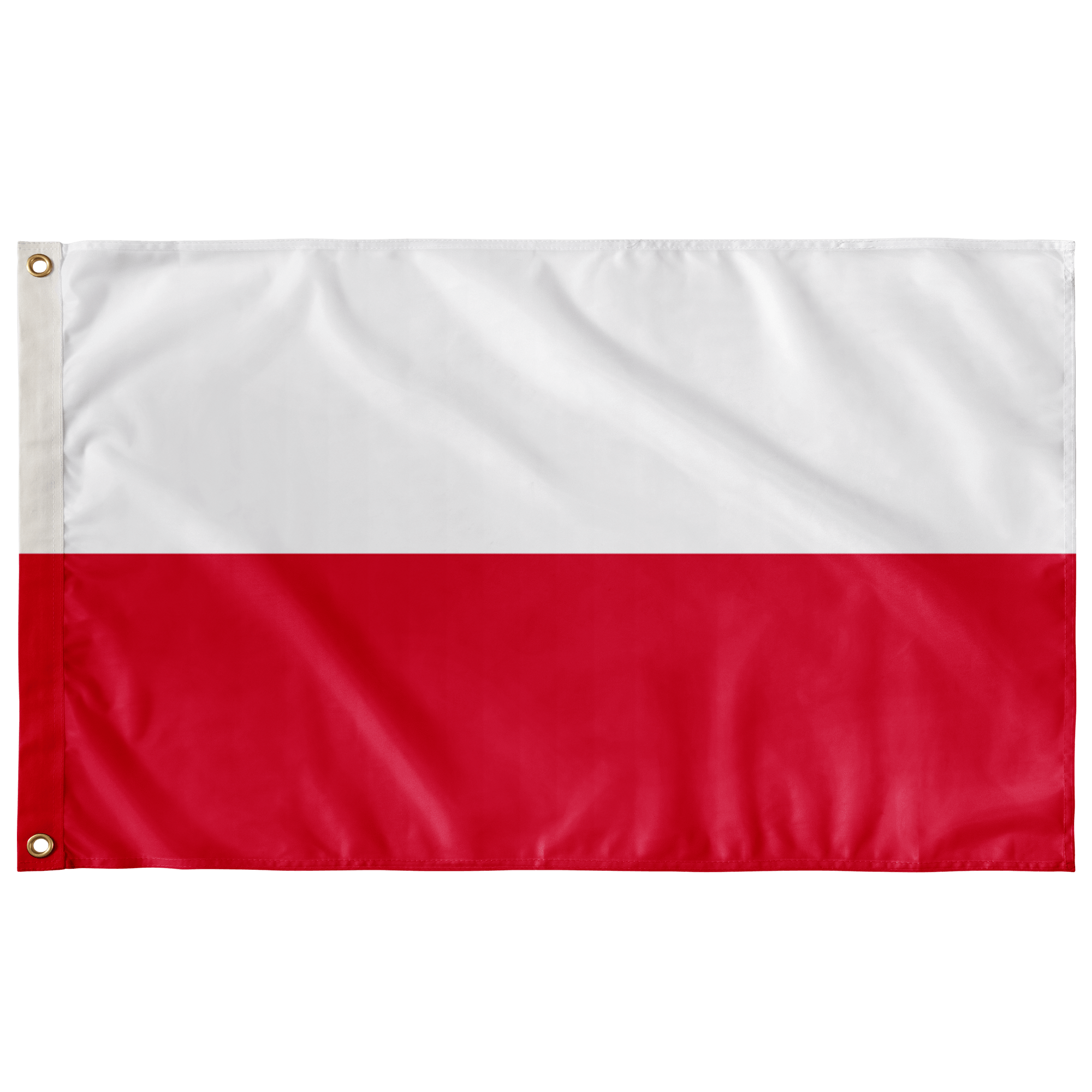 "Polish Flag - Wall Flag - 36""x60"" - Polish Shirt Store"