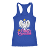 Polish Princess - Next Level Racerback Tank / Royal / XS - Polish Shirt Store