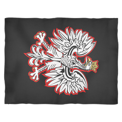 Polish Eagle Fleece Blanket - Small Fleece Blanket - Polish Shirt Store
