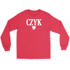Polish Surnames ending in CZYK - Gildan Long Sleeve Tee / Red / S - Polish Shirt Store