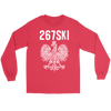 Philadelphia Pennsylvania Polish Pride - Gildan Long Sleeve Tee / Red / S - Polish Shirt Store