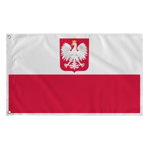 "Republic of Poland Coat Of Arms Flag - Flag - 36""x60"" - Polish Shirt Store"