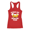 Dyngus Day Drinking Team - Next Level Racerback Tank / Red / XS - Polish Shirt Store