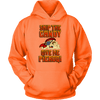 Skip The Candy Give Me Pierogi Pirate Adult Sizes - Unisex Hoodie / Neon Orange / S - Polish Shirt Store
