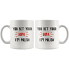 You Bet Your Dupa I'm Polish Coffee Mug -  - Polish Shirt Store