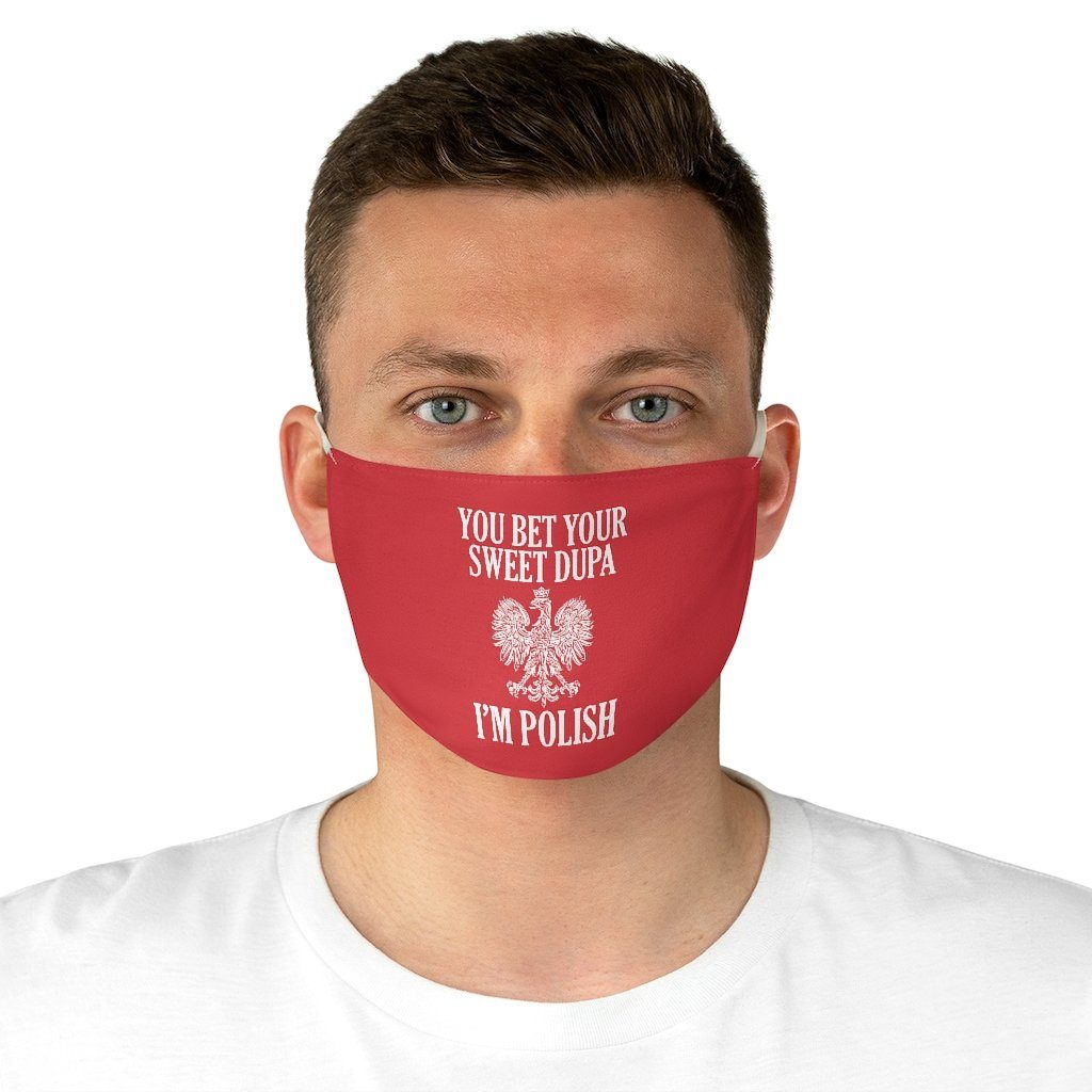 Sweet Dupa Fabric Face Mask - One size - Polish Shirt Store
