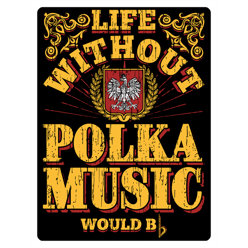 Polka Music Fridge Magnets - 3x4 inch - Polish Shirt Store