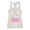 Polish Princess t shirts - Next Level Racerback Tank / Heather Grey / XS - Polish Shirt Store
