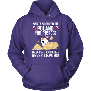 Santa Stopped in Poland For Pierogi -  - Polish Shirt Store