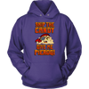 Skip The Candy Give Me Pierogi Pirate Adult Sizes - Unisex Hoodie / Purple / S - Polish Shirt Store