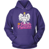 Polish Princess - Unisex Hoodie / Purple / S - Polish Shirt Store