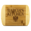 "Babcia's Kitchen Bamboo Cutting Board - Small - 8""x5.75"" - Polish Shirt Store"