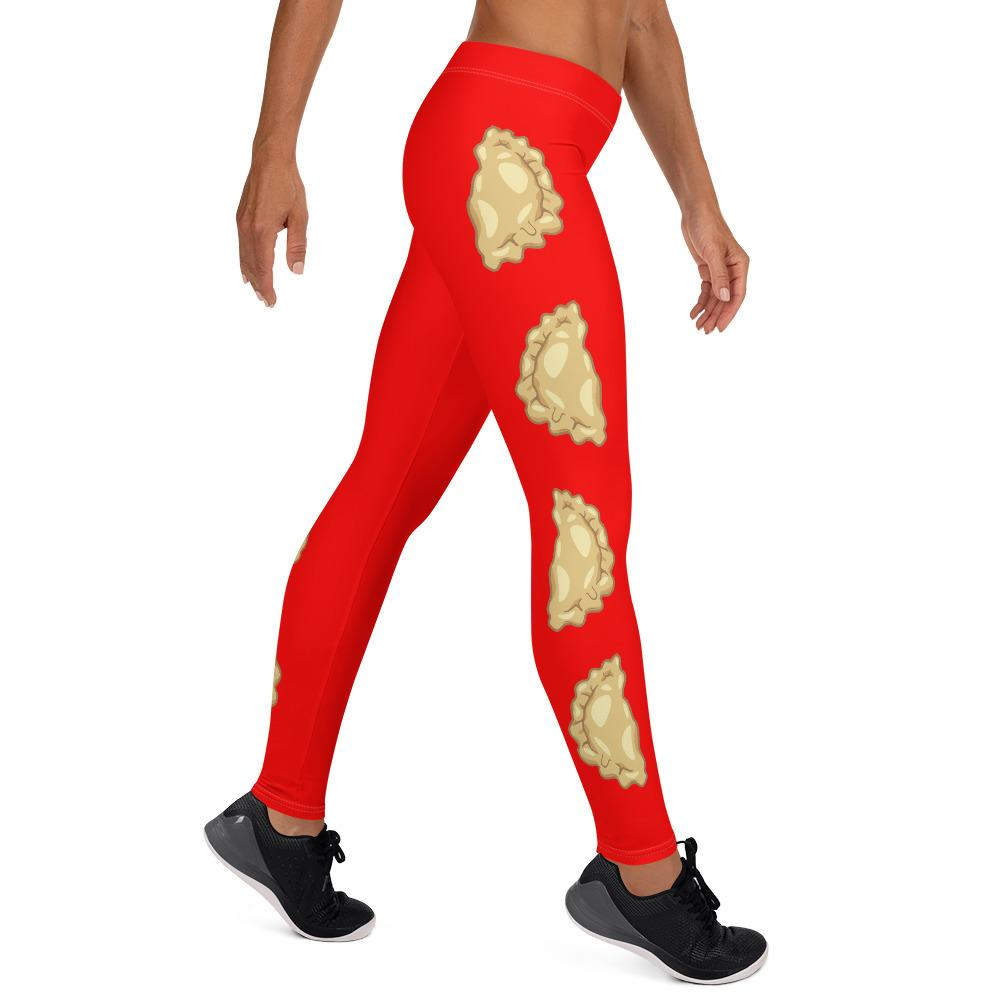 Pierogi Leggings For Pierogi Festival -  - Polish Shirt Store