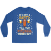 It's Not A Party Till The Kielbasa Comes Out Shirt - Gildan Long Sleeve Tee / Royal / S - Polish Shirt Store
