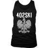 402SKI Polish Pride - District Mens Tank / Black / S - Polish Shirt Store