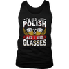 I'm Old And Polish And I Need Glasses - District Mens Tank / Black / S - Polish Shirt Store