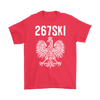 Philadelphia Pennsylvania Polish Pride - Gildan Mens T-Shirt / Red / S - Polish Shirt Store