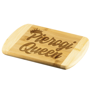 Pierogi Queen Cutting Board -  - Polish Shirt Store