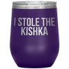 Who Stole The Kishka - I Stole The Kishka - Purple - Polish Shirt Store