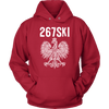 Philadelphia Pennsylvania Polish Pride - Unisex Hoodie / Red / S - Polish Shirt Store