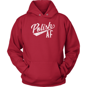 Polish AF - Unisex Hoodie / Red / S - Polish Shirt Store