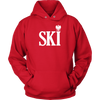 Polish Surnames Ski - Unisex Hoodie / Red / S - Polish Shirt Store