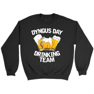 Dyngus Day Drinking Team - Crewneck Sweatshirt / Black / S - Polish Shirt Store
