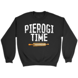 Pierogi Time T-Shirt - Crewneck Sweatshirt / Black / S - Polish Shirt Store