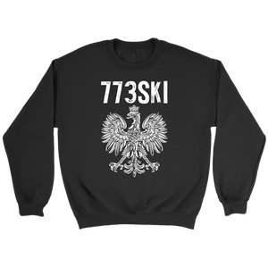 773SKI Chicago Polish Pride - Crewneck Sweatshirt / Black / S - Polish Shirt Store