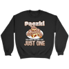 Pączki You Know Can't Eat Just One - Crewneck Sweatshirt / Black / S - Polish Shirt Store