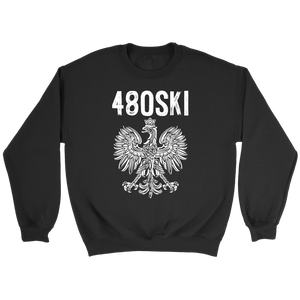 480SKI Arizona Polish Pride - Crewneck Sweatshirt / Black / S - Polish Shirt Store
