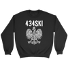 434SKI Virginia Polish Pride - Crewneck Sweatshirt / Black / S - Polish Shirt Store