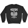 402SKI Polish Pride - Crewneck Sweatshirt / Black / S - Polish Shirt Store