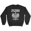 North Carolina Polish Pride - 252 Area Code - Crewneck Sweatshirt / Black / S - Polish Shirt Store