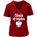 Ciocia of Triplets Gift - Polish Shirt Store