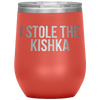 Who Stole The Kishka - I Stole The Kishka - Coral - Polish Shirt Store