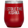 Who Stole The Kishka - I Stole The Kishka - Red - Polish Shirt Store